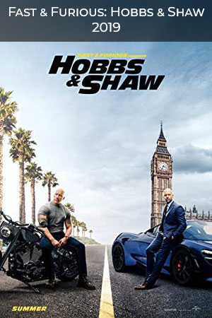 Fast and Furious Hobbs and Shaw poster